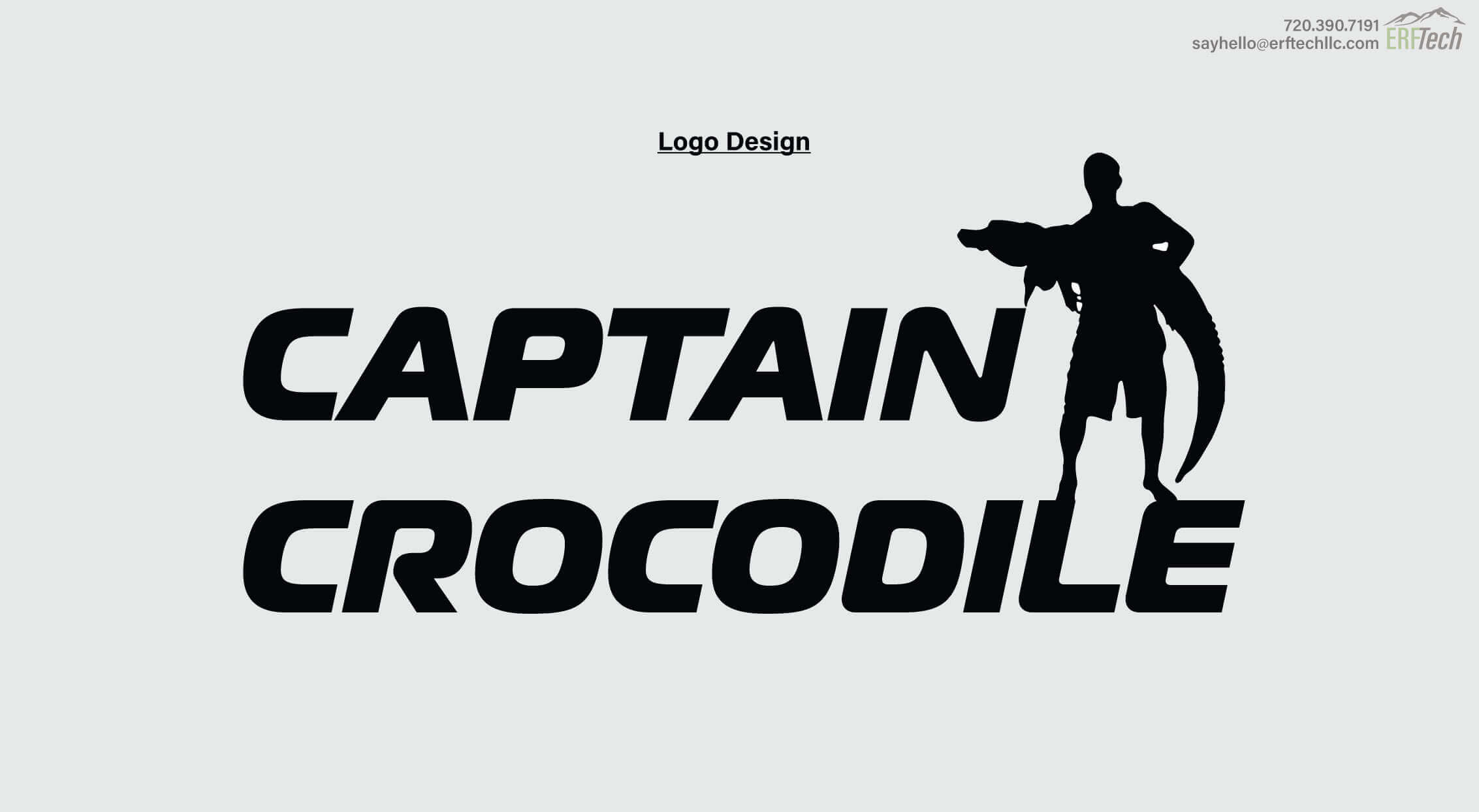 Logo Design for Captain Crocodile in Denver, CO