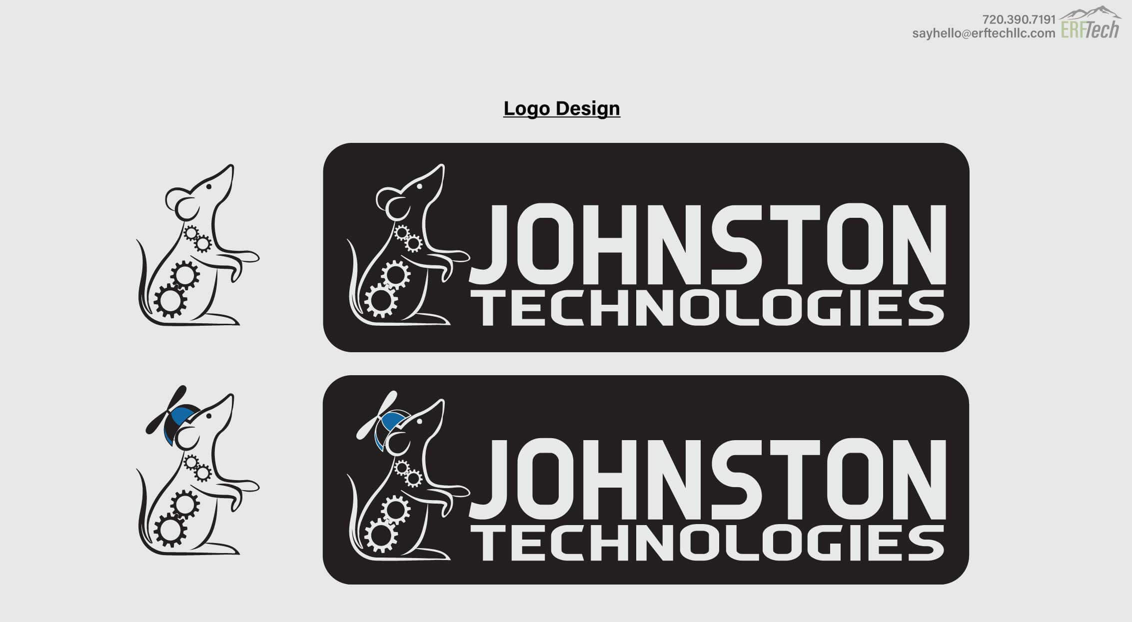 Logo Design for Johnston Technology in McKeesport, PA