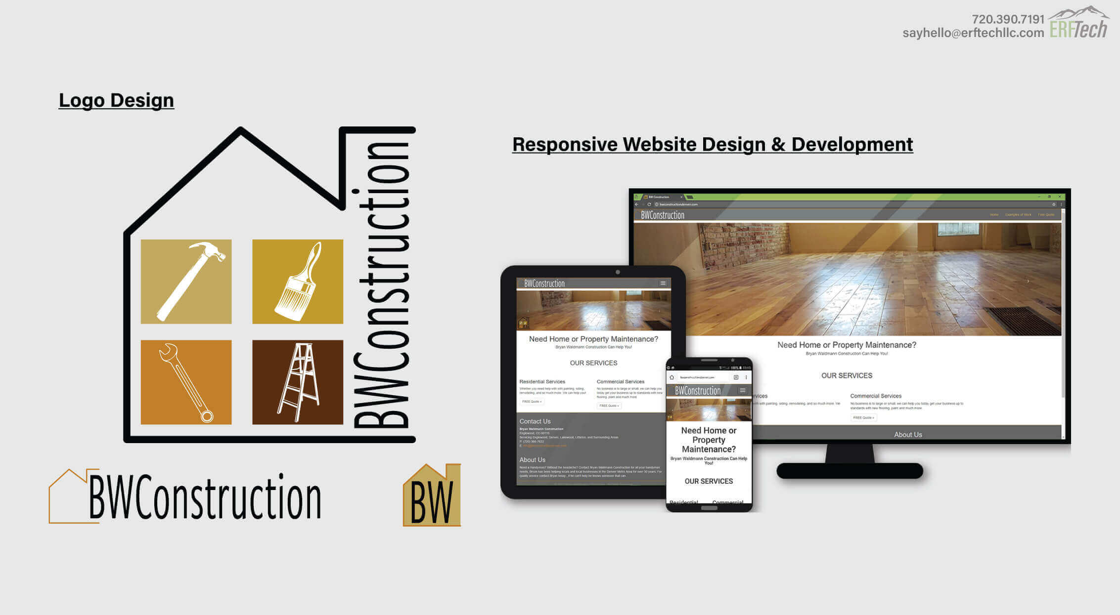 Full-Service Marketing for BW Construction in Denver, CO