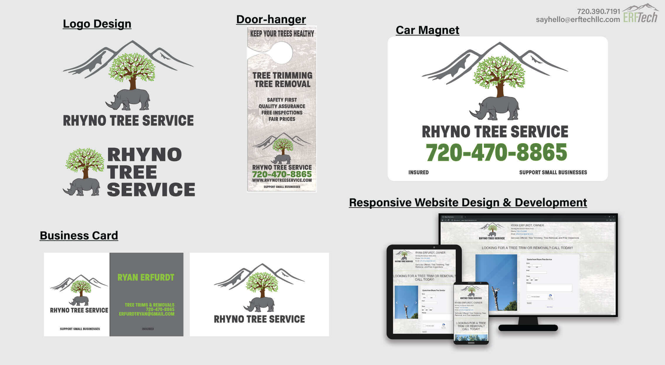 Full-Service Marketing for Rhyno Tree Service in Littleton, CO