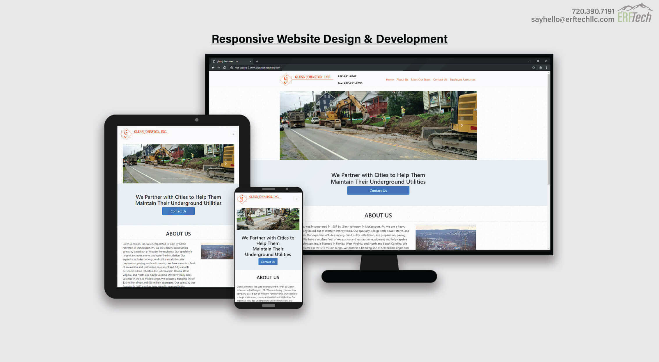 Website Management for Glenn Johnston in McKeesport, PA